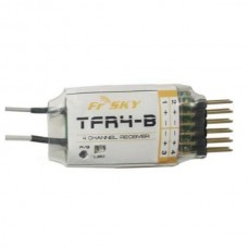 FrSky 2.4G 4-channel TFR4-B TF Receiver Futaba FASST Compatible