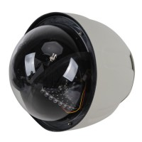 """9"""" CCD PTZ Outdoor Security Dome Camera IR Infrared Ray RS485 PTZ"""
