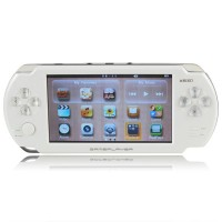 5 inch V5000 Game Player Black White 4GB Game Handheld 3D Game Touch Screen
