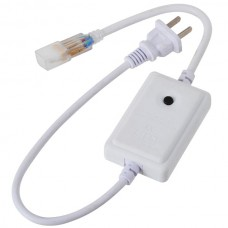 RGB LED Light Strip Plug Strip Light Socket 220V