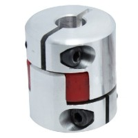 6mm to 6mm 6x6mm CNC Motor Shaft Coupling Coupler Diameter 25mm Length 30mm