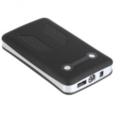 12000mAh Travel Power Mobile Power with Battery Indicator Black