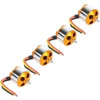 A2212-13 1200KV Outrunner Brushless Motor for RC Helicopter 4-Pack