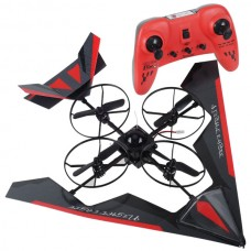 Intruder UFO 2.4G 4CG Gyro RC Quadcopter Helicopter UFO