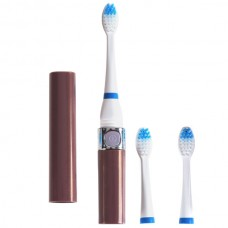 Multi Function Portable Sonic Toothbrush with 2pcs Extra Brush Heads