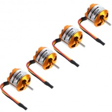 2814-7 1100KV Outrunner Brushless Motor for Quadcopter Multicopter 4-Pack
