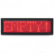 1248 12x48 Red LED Dot Matrix Digital Desktop Display Board