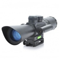 Accurate M8 JGBGM8  Rifle Scope  3.5-10x40 With Red Laser Light