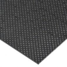 200mmX300mmX0.5mm Carbon Fiber Plate Sheet 3K Twill