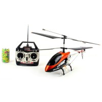 Superdeal 73cm Gyro Metal 3.5ch 1200mah Li-poly RC Radio Control Helicopter R/C Plane Toy DH 9053