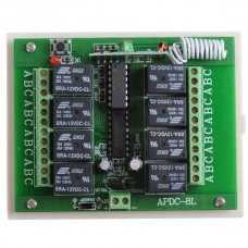 8CH Remote Control Switch Receiver Module 12V