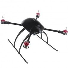 MMC MQ600 Folding Quadcopter Frame 568MM FPV Aircraft with Landing Skid