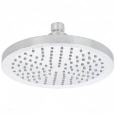 """8"""" Round 3-Color 12 LED Battery-Free Water Temperature Sensor Shower Head"""