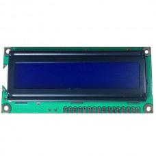 Character LCD Display LCM 1602 16X2 162 Blue 3.3V