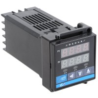C100 Digital Temperature Controller K Type Thermocouple AC 220V Relay 48 x 48 x 110 MM