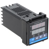 C100 Digital Temperature Controller K Type Thermocouple AC 220V SSR 48 x 48 x 110 MM
