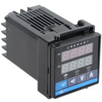 C100 Digital Temperature Controller K Type Thermocouple AC 220V Relay 48 x 48 x 90 MM