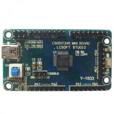 U Disk Cord Development Board C8051F340 Flash(K9F5608)