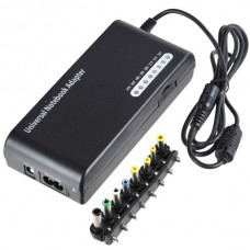 100W Universal Laptop AC Power Supply with 8 Connectors AC 100~240V