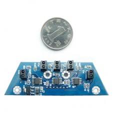 5 Channels Arduino Infrared Reflex Close to Switch Black & White Line Tracking Sensor Module
