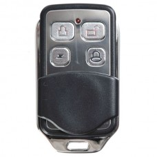 Car Remote Controller 4 Keys Alloy ABS Slip Remote Control Type