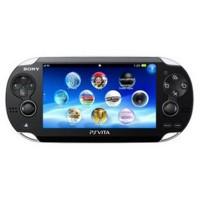 Sony Play Station VITA Wi-Fi only Ver PS Vita Black Japan + 4G Card