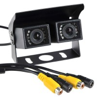 High Resolution Night Vision Waterproof Car Rear View Camera PAL