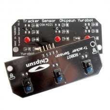 3 Channel Infrared Detector Tracked Photoelectricity Sensor Obstacle Avoidance Module for Smart Car Robot TCRT5000