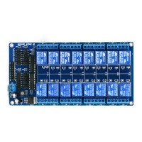 5V 16 Channel Relay Module Board for PIC AVR MCU DSP