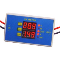 DC-DC 6A 56V Dual-display Power Current Voltage Meter VA Meter WAM566 F Test Device