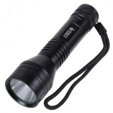 C9 Cree Q5 LED Torch  Flashlight 1* 18650- 400+ lumens