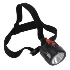 3.7V Portable 3000LUX 1W LED Wireless KL2.5LM Mining Cap HeadLamp Li-ion Battery