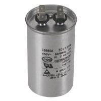 CBB65A 10/15/20/25//30uf 450V Air Conditioner Capacitor 50/60Hz CLASS A Capacitor