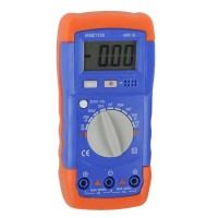 A6013L LCD Capacitance Capacitor Meter Tester Multimeter 20mF To 200pF