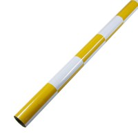 60 x 200 cm Heat Shrink Film Heat Shrinkable Membrane Skin for Multicopter-Yellow and White Grid