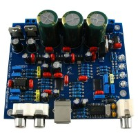 CS8416 + CS4398 DAC Board Kit Support USB Coaxial