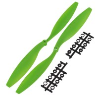 "12x4.5"" 1245 1245R CW/CCW Rotating Propeller For MultiCoptor-Green"