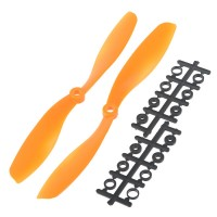 "80x4.5"" 8045 8045R Counter Rotating Propeller CW/CCW Blade For Quadcopter MultiCoptor-Orange"