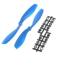 "80x4.5"" 8045 8045R Counter Rotating Propeller CW/CCW Blade For Quadcopter MultiCoptor-Blue"