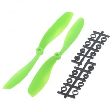 """80x4.5"""" 8045 8045R Counter Rotating Propeller CW/CCW Blade For Quadcopter MultiCoptor-Green"""