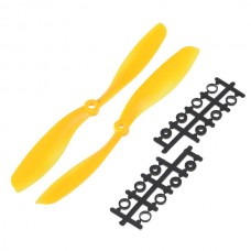 "80x4.5"" 8045 8045R Counter Rotating Propeller CW/CCW Blade For Quadcopter MultiCoptor-Yellow"