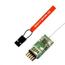 2.4G 6-Channel Microlife DSM2 /DSMX Receiver 4100E JR / SPEK
