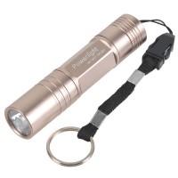 Powerlight HX-G011 High Brightness Aluminum Alloy LED 1W Flashlight Torch 1 x AA