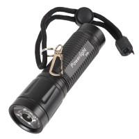 Mini LED Flashlight Gree LED Torch 3xAAA Battary Powerlight D35