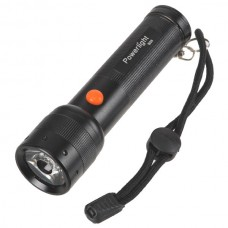 B28 Super Bright Cree LED Torch 3xAAA Battery Flashlight  - Black