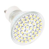 GU10 3528 SMD LED White Light 48 LED Bulb Lamp 110-220V