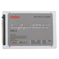 "Kingspec 2.5"" PATA MLC SSD KSD-PA25.1-064MS IDE44 Solid State Drive 4 Channel-64GB"