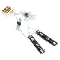 5050 Flash LED Strip Light RGB 12 LEDs Lights TC-8031