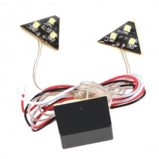 SF-2134 6 SMD LED Car Automobile Vehicle Light Triangle Shape White