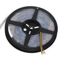 Waterproof WS2801 5050 Dream Color RGB LED Strip 5 Meters 5V 32led/meter